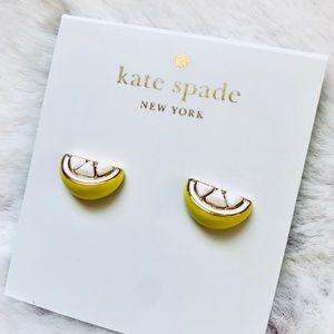 kate spade Jewelry - Kate Spade Lemon Earrings